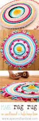 Beautiful Rugs by Turn T Shirts Into A Precious Rag Rug Hula Hoop Hula And Rainbows