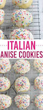 these classic italian anise cookies are tender easy and covered