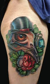 mike devries bird skull plus collaboration with timmy b