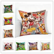 canap mickey mignon mickey mouse donald canard de bande dessinée motif housse de