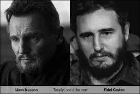 Liam Neeson Meme - liam neeson totally looks like fidel castro liam neeson meme