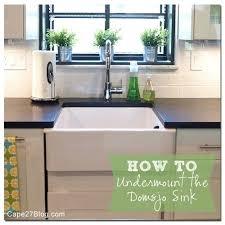 ikea farmhouse sink installation ikea domsjo sink drop in farmhouse sink with regard to remodel 7