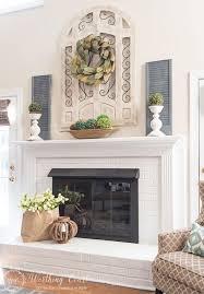 Fireplace Mantel Decorating Ideas Best Decorations Antique