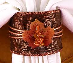 thanksgiving napkin rings are a great way to add a festive touch to