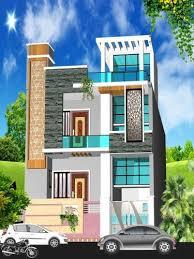2 floor house house 2 floor front 3d elevation design service hospital front