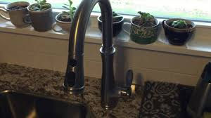 water faucets kitchen fixing low kitchen faucet water pressure on a kohler bellera k 560