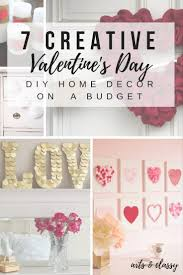 Valentine Decorations For The Home by 7 Creative Diy Valentine U0027s Day Home Decor Arts And Classy