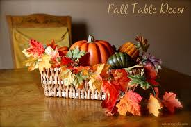 fall table decor fall decor table centerpiece with leaves and pumpkins a