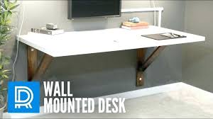 Floating Desk Diy Floating Desk Plans Wall Mounted Desk Build A Wall Mounted Desk