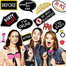 party photo booth bachelorette party photo booth props kit 30 pcs