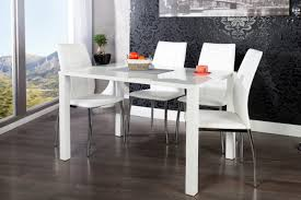 Table Ronde Extensible Blanche by Tables Repas Royale Deco