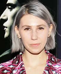 hair styles for late 20 s how to flaunt gray hair like a celebrity zosia mamet bobs and