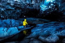 The Crystal Cave Iceland Crystal Ice Caves Iceland Stock Photo Image 57220402