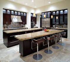 austin double island kitchen contemporary with breakfast bar black