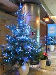 Ideas Decorating Christmas Tree - 40 fresh blue christmas decorating ideas family holiday net