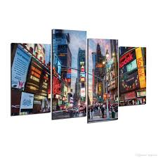 2017 fashion abstract new york buildings oil painting color city
