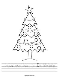 jesus was born in bethlehem worksheet twisty noodle