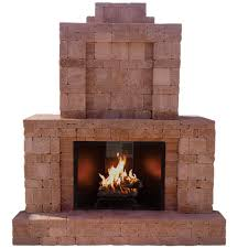 Outdoor Fireplace Images by Pavestone Rumblestone 84 In X 38 5 In X 94 5 In Outdoor Stone