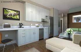 studio apartment design eas bedroom kitchen dining room picture