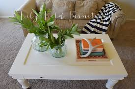 ballard design coffee table makeover lily field co after