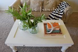 ballard design coffee table makeover lily field co