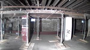 keystone basement systems wood to steel beam replacement time lapse youtube