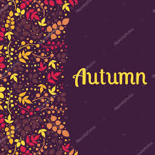 Background Of Invitation Card Autumn Falling Leaves Background Can Be Used For Wallpaper Design
