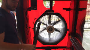 door fans u0026 crawl space portable fan with 12