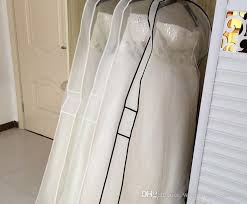 wedding dress bag transparent in stock 2015 white wedding dresses bags dust cover