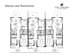 Town House Plans by Townhome Floor Plan Best 5 Townhouse Plan D0279 D0279 1500 00