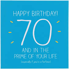 happy jackson age 70 birthday card prime of your life u2013 the
