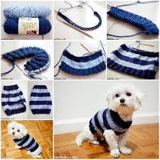 crochet pattern for dog coat diy easy knitted dog sweater animals pinterest dog knitting