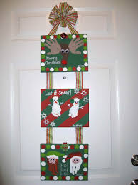 craft christmas decorations to make with children at preschool for