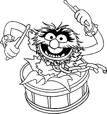 Anatomy And Physiology Songs The Muppets Animal Song Coloring Pages Wecoloringpage