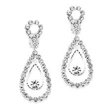 rhinestone earrings why you should wear rhinestone earrings styleskier