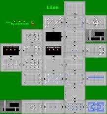 dungeon floor plans nes the legend of zelda 8th dungeon lion the spriters resource