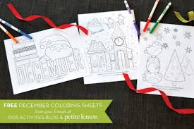 cute christmas printables christmas coloring pages perfect