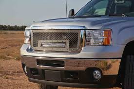 led lights for 2014 gmc sierra radius led grilles featuring rigid curved led light bars by rigid