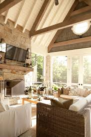 screened in porch with vaulted ceiling screen porch trim and