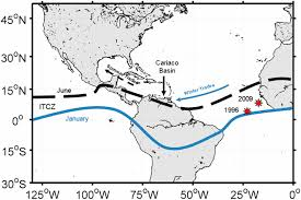 Southern Caribbean Map by Ecosystem Responses In The Southern Caribbean Sea To Global