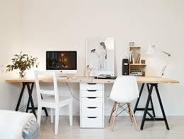 planche de bureau ikea idée un bureau sur tréteaux 12 inspirations et une selection
