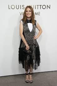 julianne moore julianne moore at louis vuitton u0027s boutique opening at paris