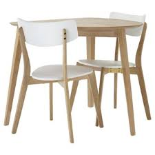 Tesco Bistro Chairs Buy Charlie Table And 2 Chair Set Oak Effect And White From Our