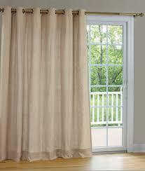 interior grommet dark sliding doors drapery combined white sheer