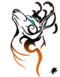 tribal tattoo a deer by greeneco94 on deviantart
