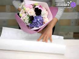 paper wrapped flowers pretty korean paper wrapped bouquet tutorial flowers floral