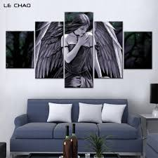 home decor wall posters aliexpress com buy angel canvas painting wall posters home