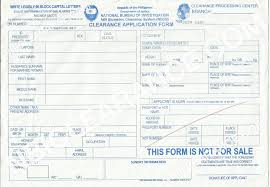 Authorization Letter For Application Visa Ask Someone To Claim Your Nbi Clearance Using The Authorization