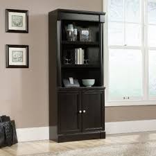 Espresso Bookcase With Doors Espresso Bookcases You Ll Wayfair