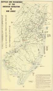 New Jersey To New York Map by Historical New Jersey Revolutionary War Maps